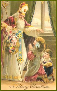 St. Nicholas of Bari, as the patron of children