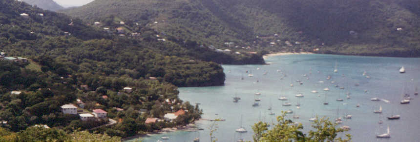 Admiralty Bay south shore - Bequia